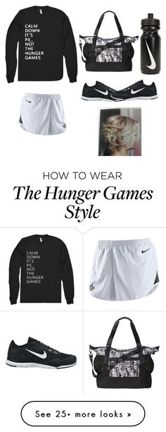"""""""Gym"""" by aribear12 on Polyvore featuring moda e NIKE"""