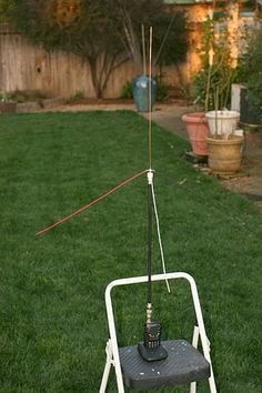 The 2 Meter HT Ground Plane Antenna Project - Stupid Ham Trick! Radios, Ham Radio Antenna, Surveillance Equipment, Electronics Projects, Outdoor Power Equipment, Stupid, Plane, Radio Activity, Ham Soup