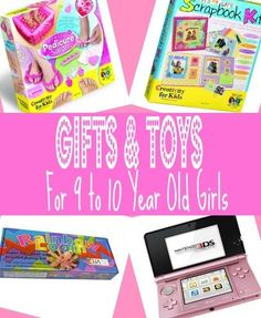 Best Gifts & Toy for 9 Year Old Girls in 2013 - Top Picks for Christmas, Birthdays and 9-10 Year Olds