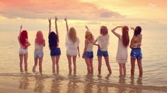 SNSD. Party mv. Sunny,Taeyeon,Tiffany,Yoona,Hyoyeon,Sooyoung,Seohyun,Yuri B.c