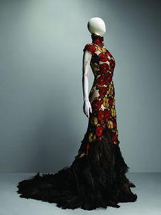 Alexander McQueen: Dress, VOSS, spring/summer 2001