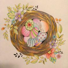 Eleri Fowler Joyous Blooms Bird Nest