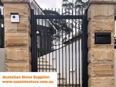 Aussietecture natural stone supplier has a unique range natural stone products for walling, flooring & landscaping. Sandstone Cladding, Natural Stone Cladding, Sandstone Wall, Sandstone Paving, Natural Stone Wall, Natural Stones, Livable Sheds, Stone Blocks, Garden Design