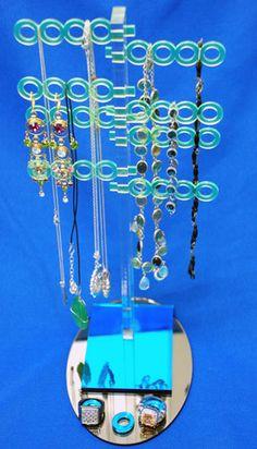 Laser Cut Acrylic Jewelry Tree