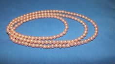 Stunning Faux Salmon Pink Pearl Necklaces in the Necklaces & Pendants category was listed for on 9 May at by amazingfindz in Nelspruit Pink Pearl Necklace, Pearl Necklaces, Beaded Bracelets, Pendant Necklace, Salmon, Jewelery, Pendants, Pearls, Stuff To Buy