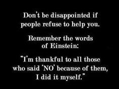 Be thankful ...