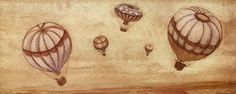 Five Hot Air Balloons - Poster by Jose Gomez (19.5 x 7.75) by AppleJack, http://www.amazon.com/dp/B002VHUGH2/ref=cm_sw_r_pi_dp_kBYYqb17HE12B