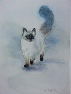Watercolour painting art #PaulineRobinsonArt