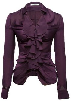 ShopStyle: Givenchy Ruched Blouse