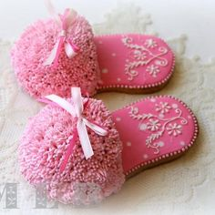 night slippers cake