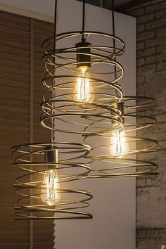 Modern Industrial Lamp Design For Your Home - When looking for accessories like home lamps, selecting the style of lamp is one of the first choices one needs to make. The most basic categories of . Lighting Concepts, Lighting Design, Lighting Ideas, Vintage Industrial Lighting, Modern Industrial, Industrial Design, Lampe Metal, Lustre Metal, Design Light