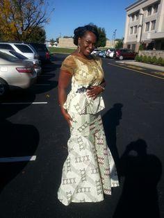 Ghanaian bride