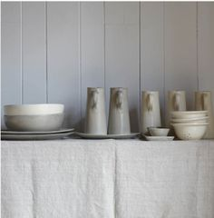 The New General Store: grey pottery collection