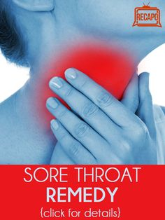 Need to get rid of a sore throat? Dr. Oz shares his favorite remedy, as well as a remedy for runny nose.