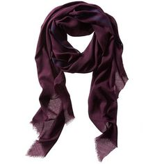 Banana Republic Gauze Scarf ($41) ❤ liked on Polyvore featuring accessories, scarves, secret plum, fringe shawl, banana republic, gauze scarves, fringe scarves and banana republic scarves