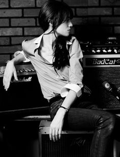 Charlotte Gainsbourg. Love her and her tomboyish style #tomboy #boy #grunge #suit #blazer #heels #boots #androgenous #boygeorge #style #vogue #weheartit #tumblr #polyvore #trend #trending