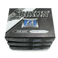 Golf Balls 18924: New Srixon Q-Star 3 Pure White Golf Balls Greenside Spin And Accurate - 3 Dozen -> BUY IT NOW ONLY: $56.97 on eBay!
