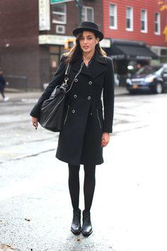 NYC Street Style. source free people blog.