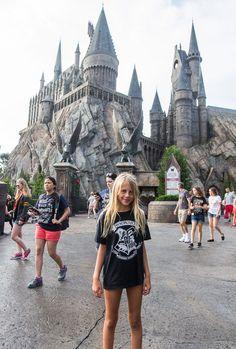 Hogwarts Castle at Universal Orlando. #familytravel #harrypotterfan #universalstudios