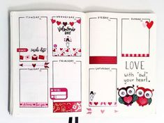 Don't you love gorgeous romantic valentines day theme bullet journal spreads and layouts? For your February 2020 inspiration check out the cute valentine doodles. We have mood trackers, monthly & weekly pages and layouts and cover ideas Bullet Journal Spreads, Bullet Journal Contents, Bullet Journal Monthly Spread, Bullet Journal How To Start A, Bullet Journal Layout, Bullet Journal Inspiration, Bullet Journals, Journal Ideas, Valentine Doodle