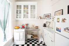 The kitchen is small but extremely functional.