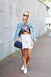 Jint B. - Superga Platform Sneakers, Michael Kors Bag - Le skirt