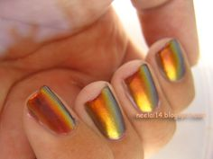 Awesome color blending especially with the shine! Good for the fall!