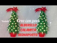 alberello di Natale calamita segnaposto pendente, realizzato in gomma Eva crepla fommy - YouTube Christmas Ornaments, Holiday Decor, Youtube, Hobby, Xmas, Fairy Houses, Noel, Bricolage, Christmas Jewelry