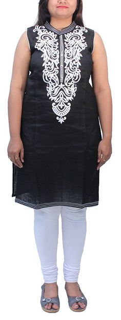 Romano Women's Black Kurti * This is an Amazon Affiliate link. Check this awesome product by going to the link at the image.