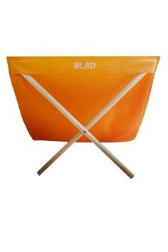 Solazy Chic Beach Chair Orange