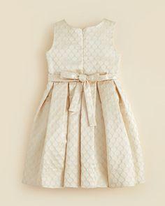 f3075270a20 Kleinfeld Pink Girls' Arianna Embossed Dress - Sizes 4-6X   Bloomingdale's  Λουλουδάτα Φορέματα