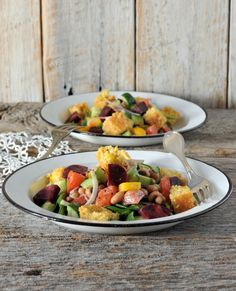 Virtual Vegan Potluck: Whatsa Panzanella