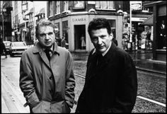 Lucien Freud and Francis Bacon by Harry Diamond 1950