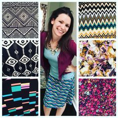 So many cute prints for the LuLaRoe Azure skirt!! Time to show off those legs!