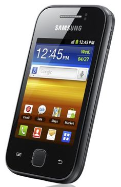 "Samsung Galaxy Y S5360 is an Android Gingerbread phone with 3"" capacitive touchscreen display."