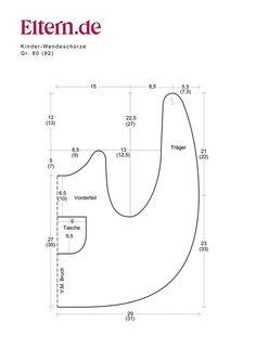 Pippi Longstocking smock pattern: