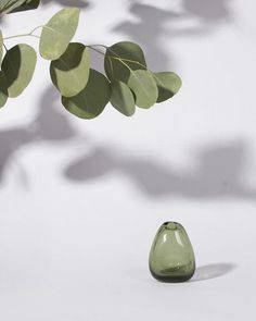We love our little bud vases by Sugahara. Because the glass is blown by hand each one has its own unique shape