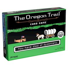 Pressman The Oregon Trail Card Game : Target - (Because it wasn't already low tech enough I guess, lol)