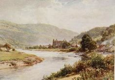 The rivers & streams of England, painted by Sutton Palmer (1909) by emmeffe6, via Flickr