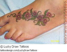 TATTOO PIC OF THE DAY! Check out this sweet tattoo design from Lucky Draw Tattoos at TattooDesign.com!