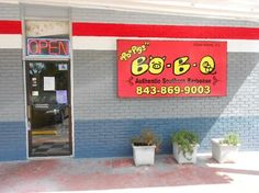 Po Pigs' Bo-B-Q (Restaurant) - Edisto Island, SC (TL 1/03); pulled pork; 40 min from Charleston