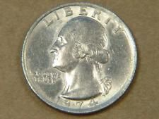 1974 Washington Quarter Missing Clad Layer Reverse