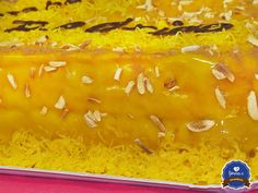 Bolo de Pão de Ló com recheio e cobertura de Creme de Ovos by fôrma C