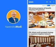 Official Mobile App of Prime Minister Narendra Modi launched  http://nm4.in/nmandroidapp