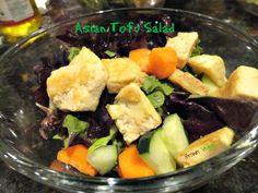 Asian Tofu Salad :-) #vegan #salad #food #lunch