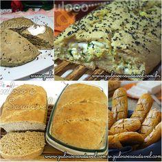 Segue a receita direitinho, mas o pão não fica exatamente do jeito que deseja? Conheça Dicas e Segredos para Preparação de Pães Caseiros! Fazer pão em ...