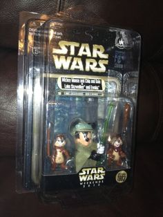 Mickey Mouse and Chip and Dale as Luke Skywalker and Ewoks Star Wars Weekends 2013 Disney / Lucafilm http://www.amazon.com/dp/B00D6XVMAU/ref=cm_sw_r_pi_dp_bLcVvb0P75PPG