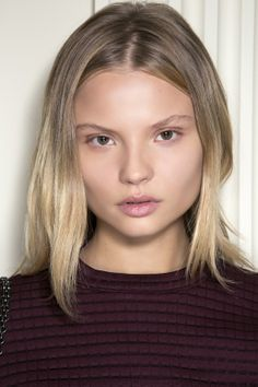 """The ultimate summer beauty look: minimal, bare-faced makeup and """"I woke up like this"""" hair. #beauty #natural"""
