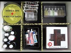 Organize sem Frescuras | Rafaela Oliveira » Arquivos » Faça Você Mesmo- divisórias de gavetas de isopor + organização dos remédios