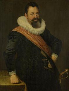 Nicolaes Eliasz. Pickenoy, Portrait of Jochem Hendricksz Swartenhont (1566-1627), 1627 - Het Rijksmuseum